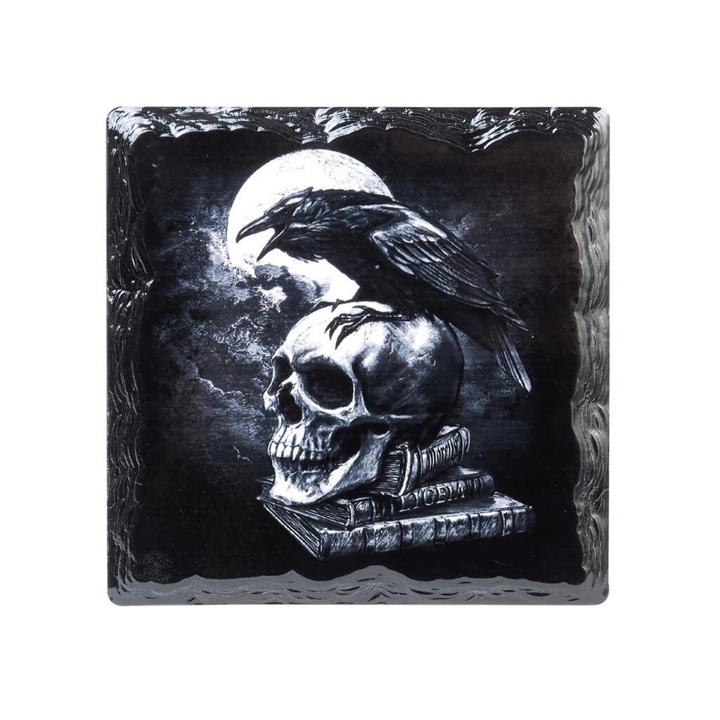 Poe's Raven Slate Coaster