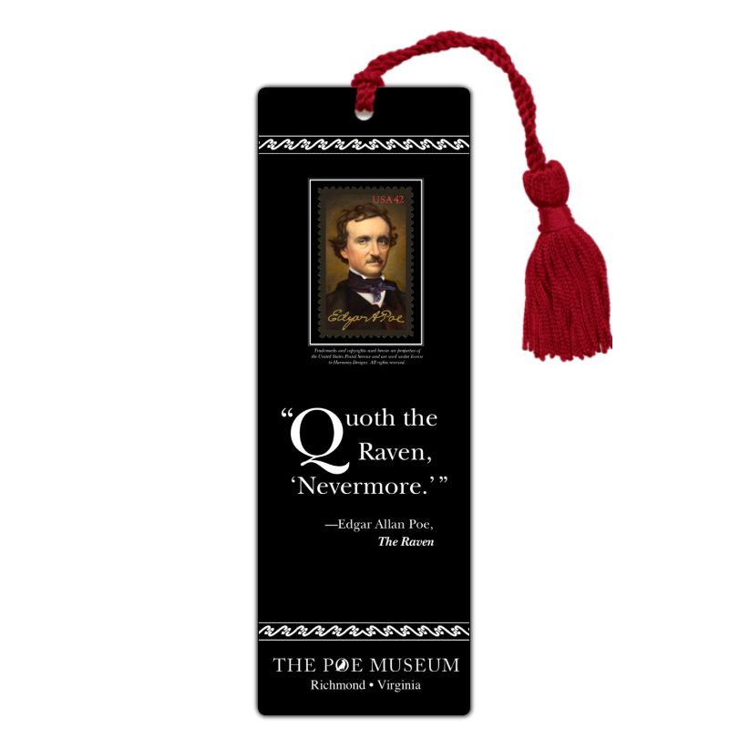 """Bookmark """"Quoth the Raven"""""""