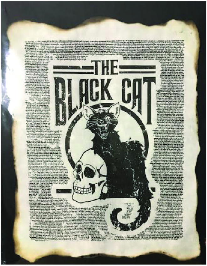 Apothecary Print: Black Cat
