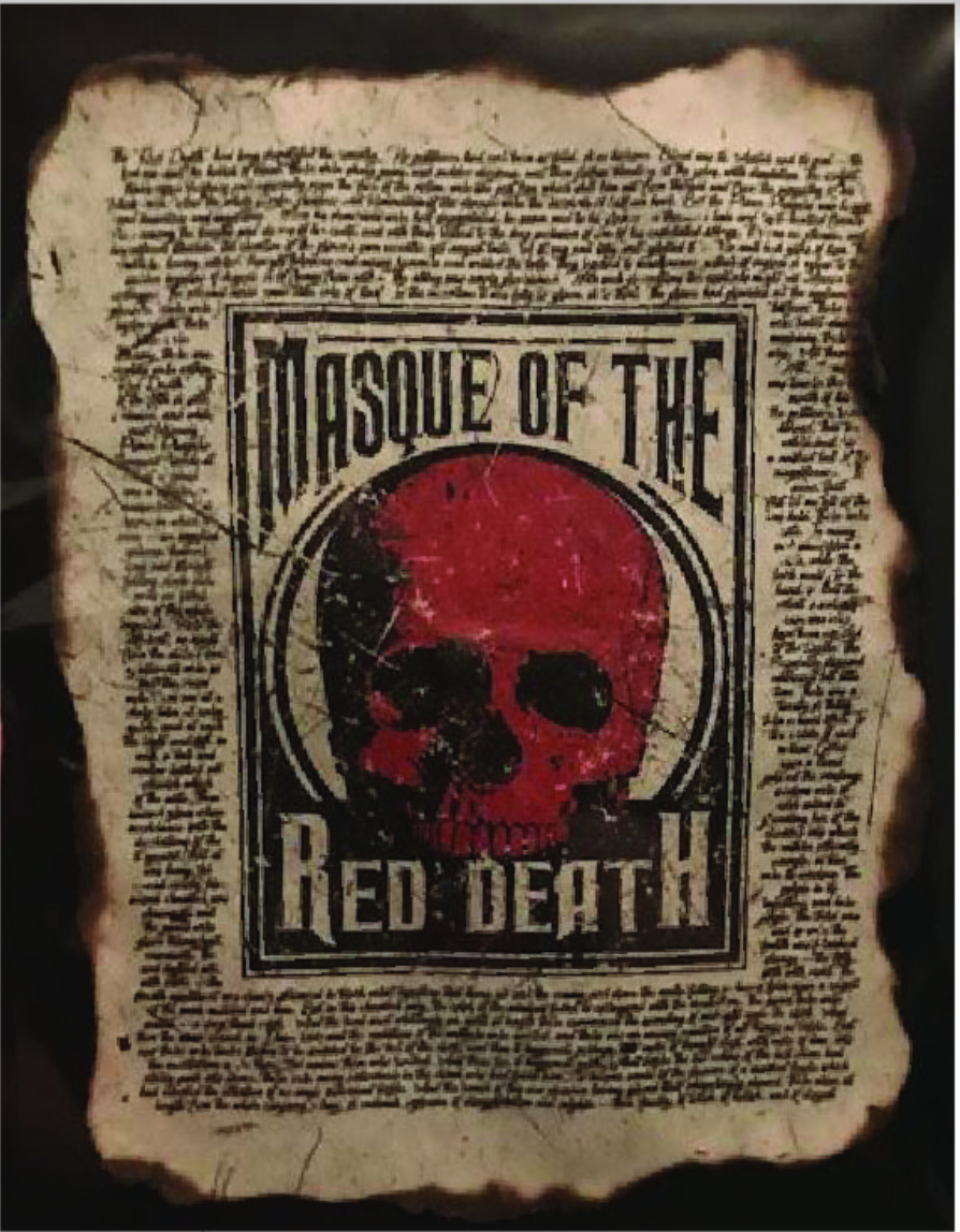 Apothecary Print: Masque of the Red Death