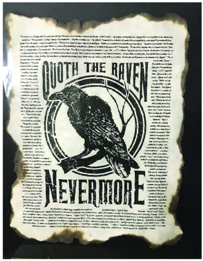 Apothecary Print: Quoth The Raven