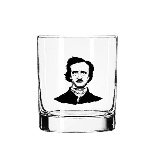 Poe Glass Tumbler