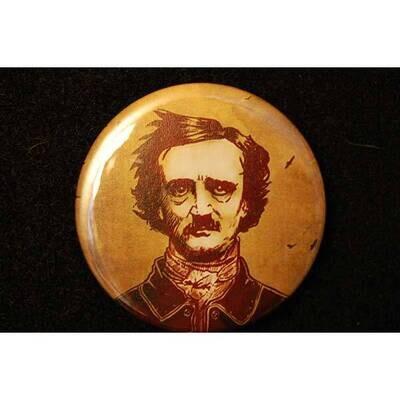 Brown Portrait Round Magnet
