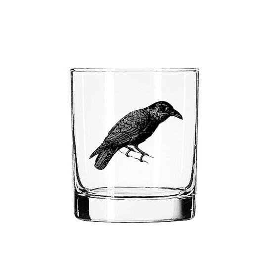 Raven Glass Tumbler