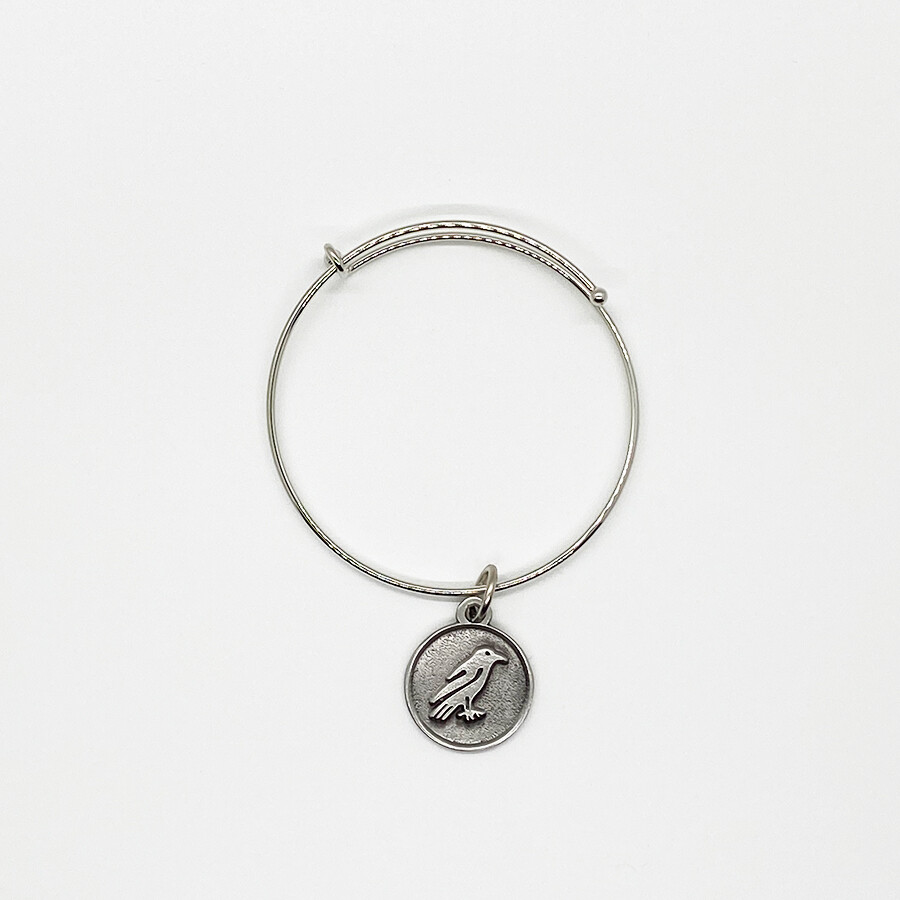 Pewter Raven Bracelet