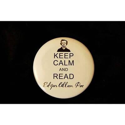 Keep Calm Round Magnet