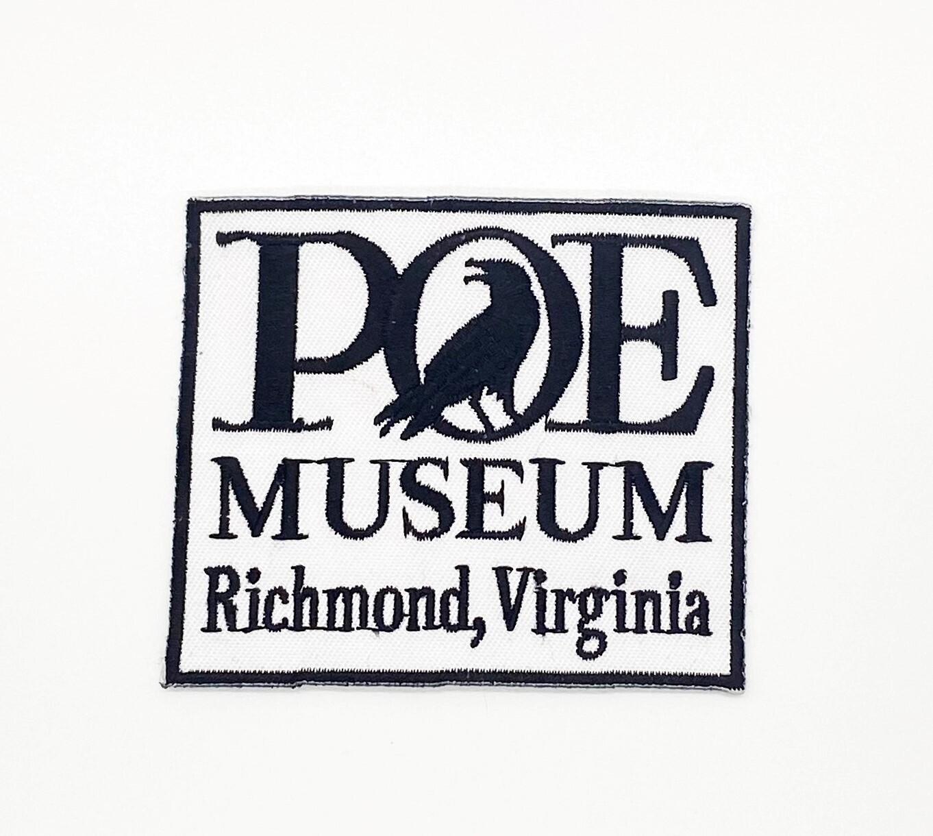 Poe Museum Logo Patch
