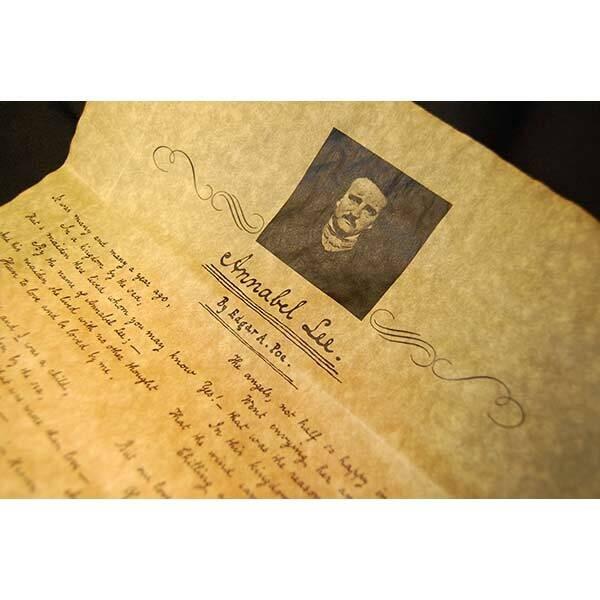 Annabel Lee Parchment