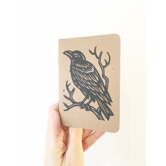 Raven Pocket Travel Journal
