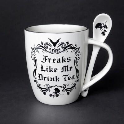 Freaks Mug & Spoon Set
