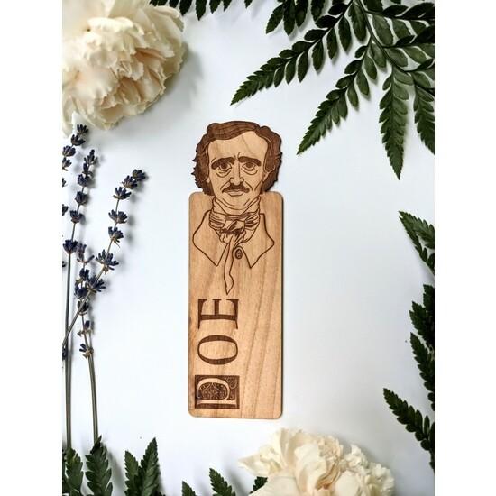 Peek-a-boo Poe Bookmark