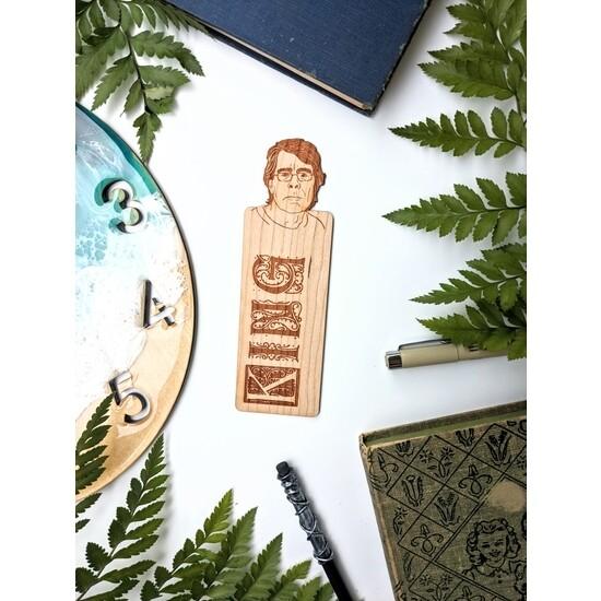 Peek-a-boo King Bookmark