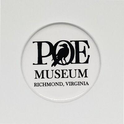 Poe Museum Logo Magnet