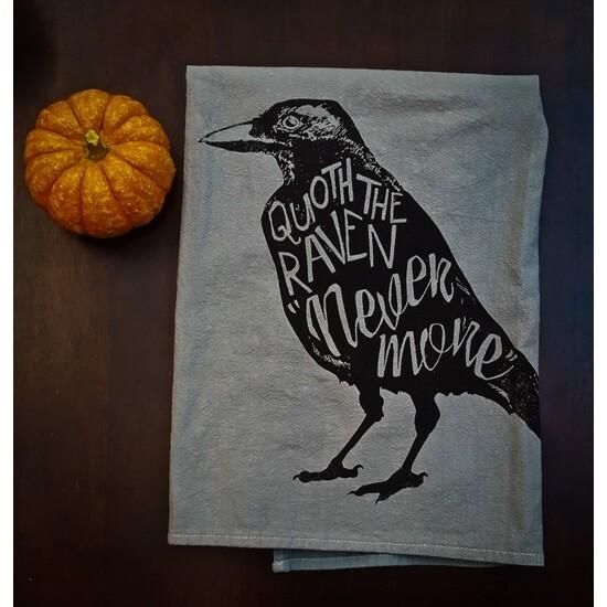 Tea Towel, Quoth the Raven