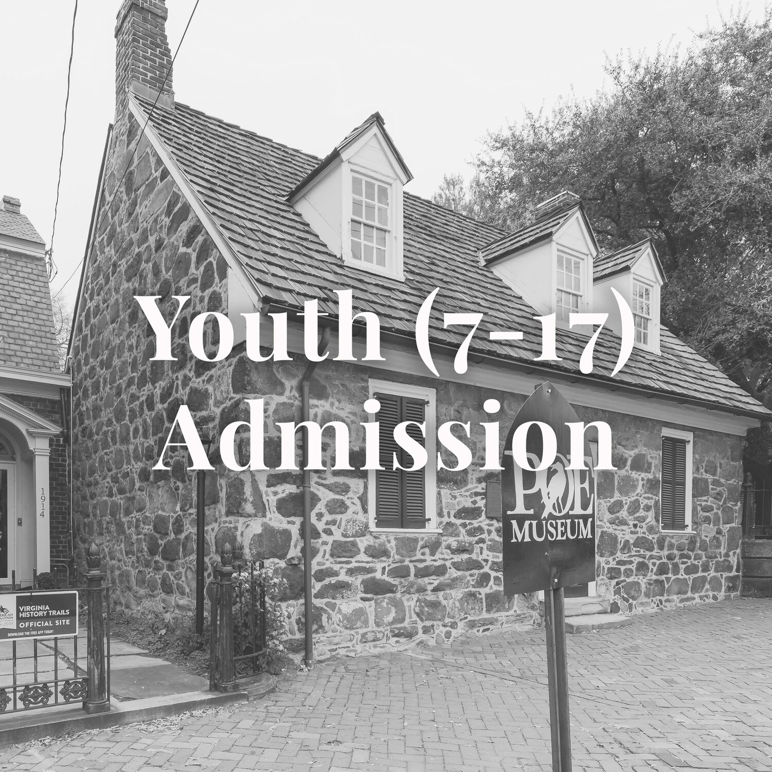 Youth (7-17) Museum Admission