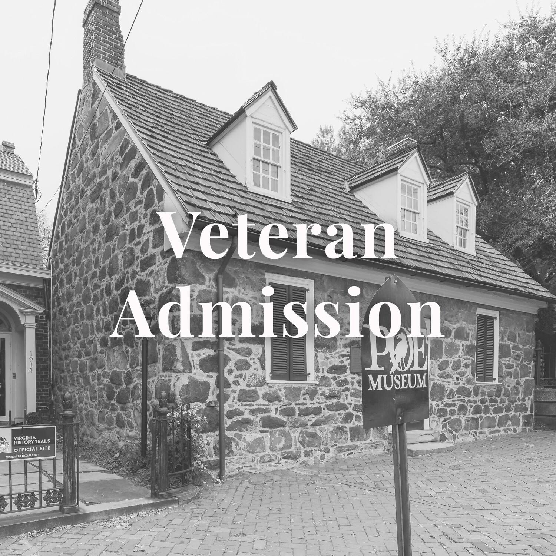 Veteran Museum Admission