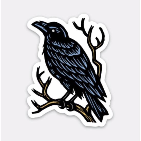 Raven Waterproof Sticker