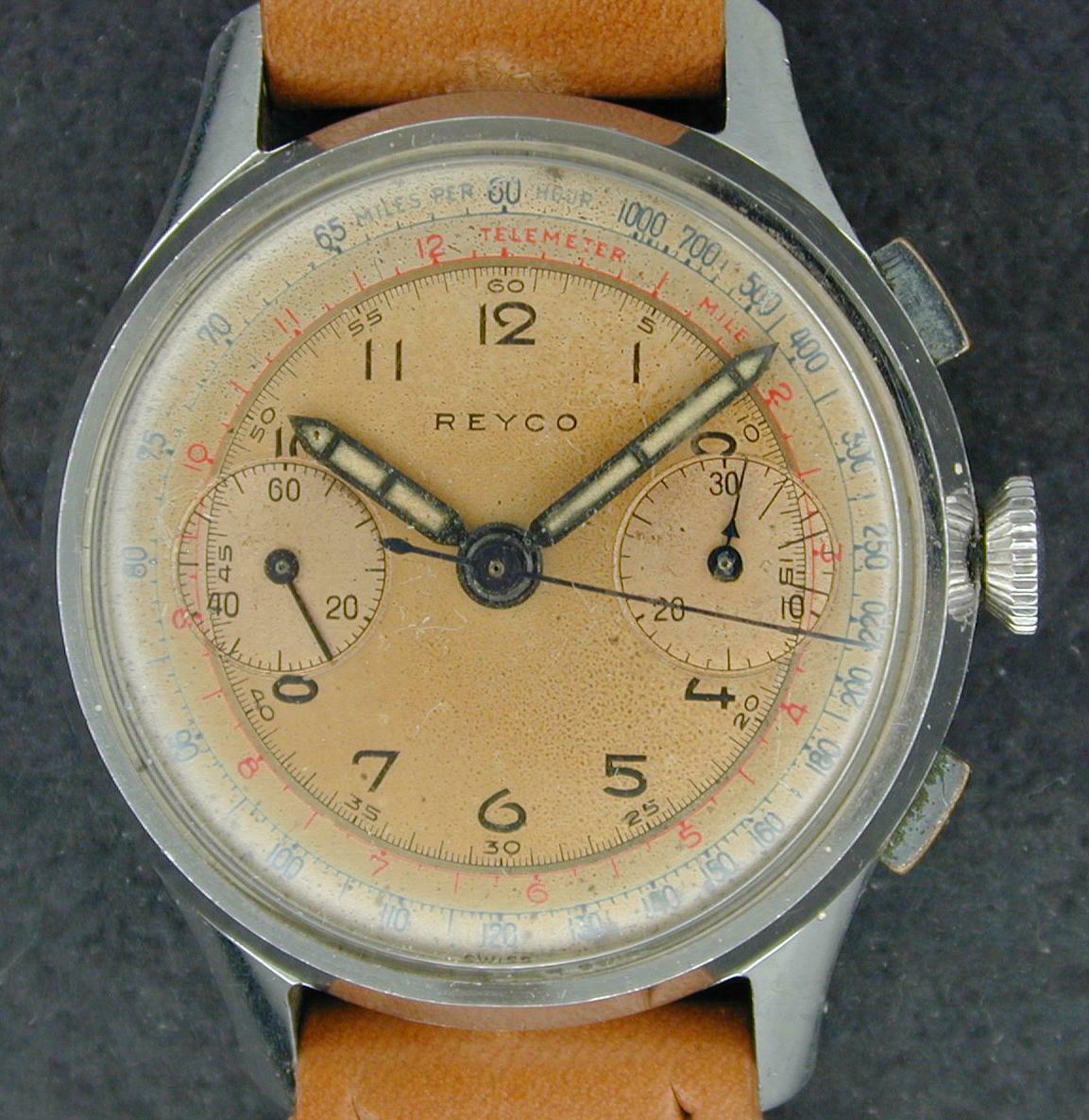 Reyco Chronograph Valjjoux 22