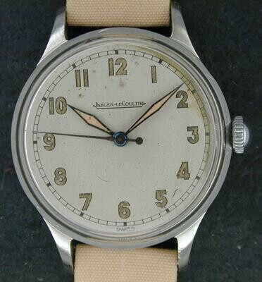 Jaeger LeCoultre Military style