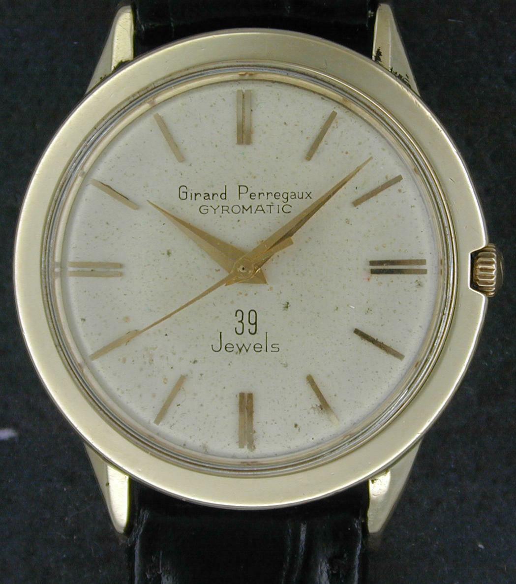 14kt Girard Perregaux Chronometre