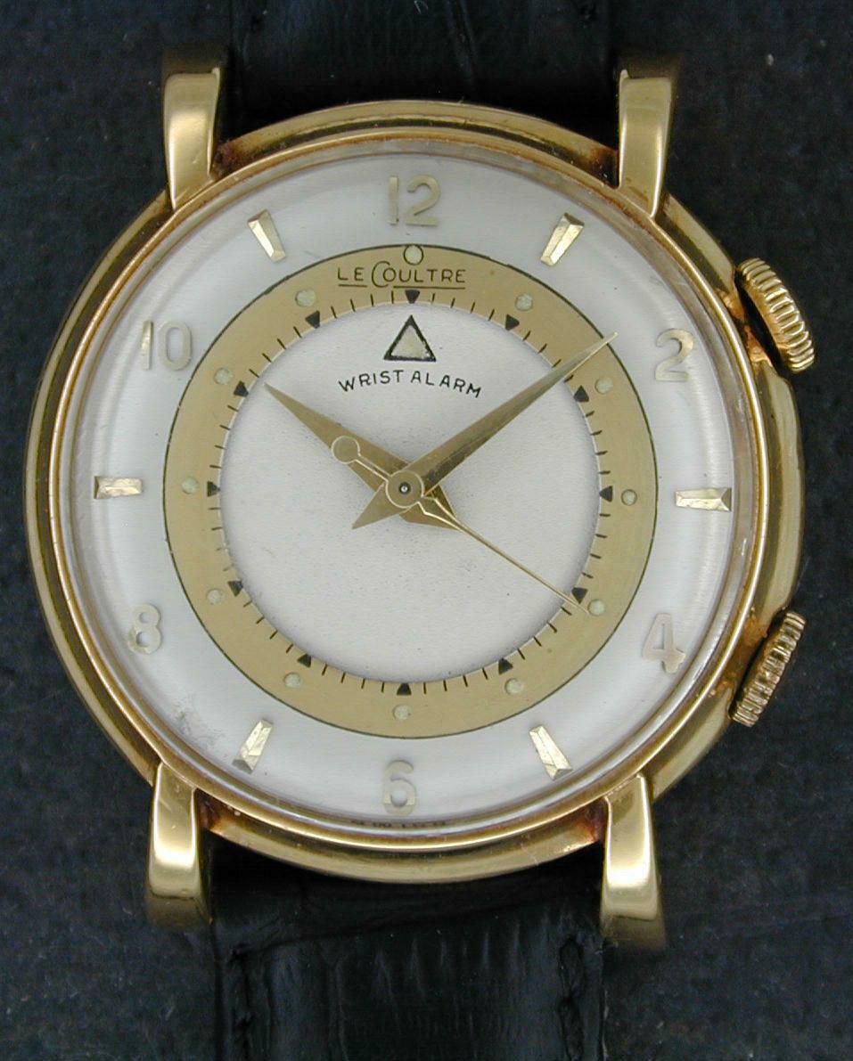 18kt LeCoultre Wrist Alarm