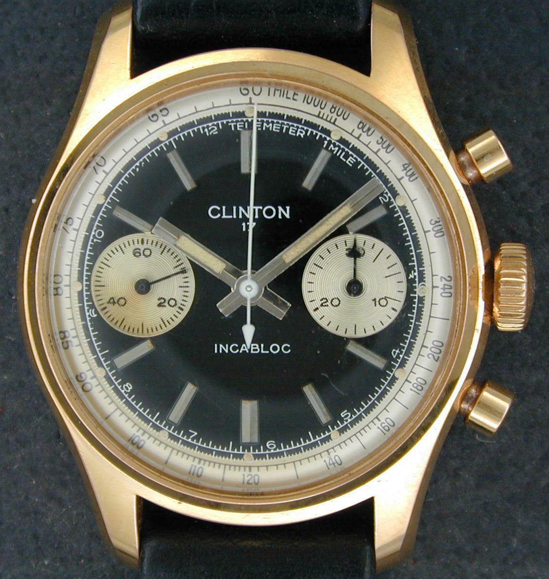 Clinton Chronograph #210305