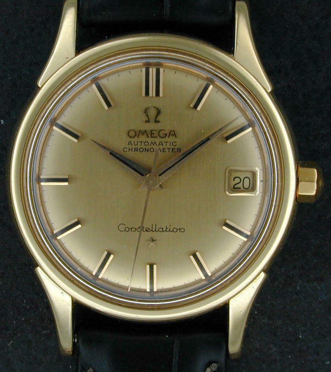 18kt Omega Constellation