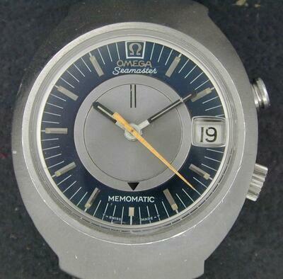 Omega Seamaster Memomatic