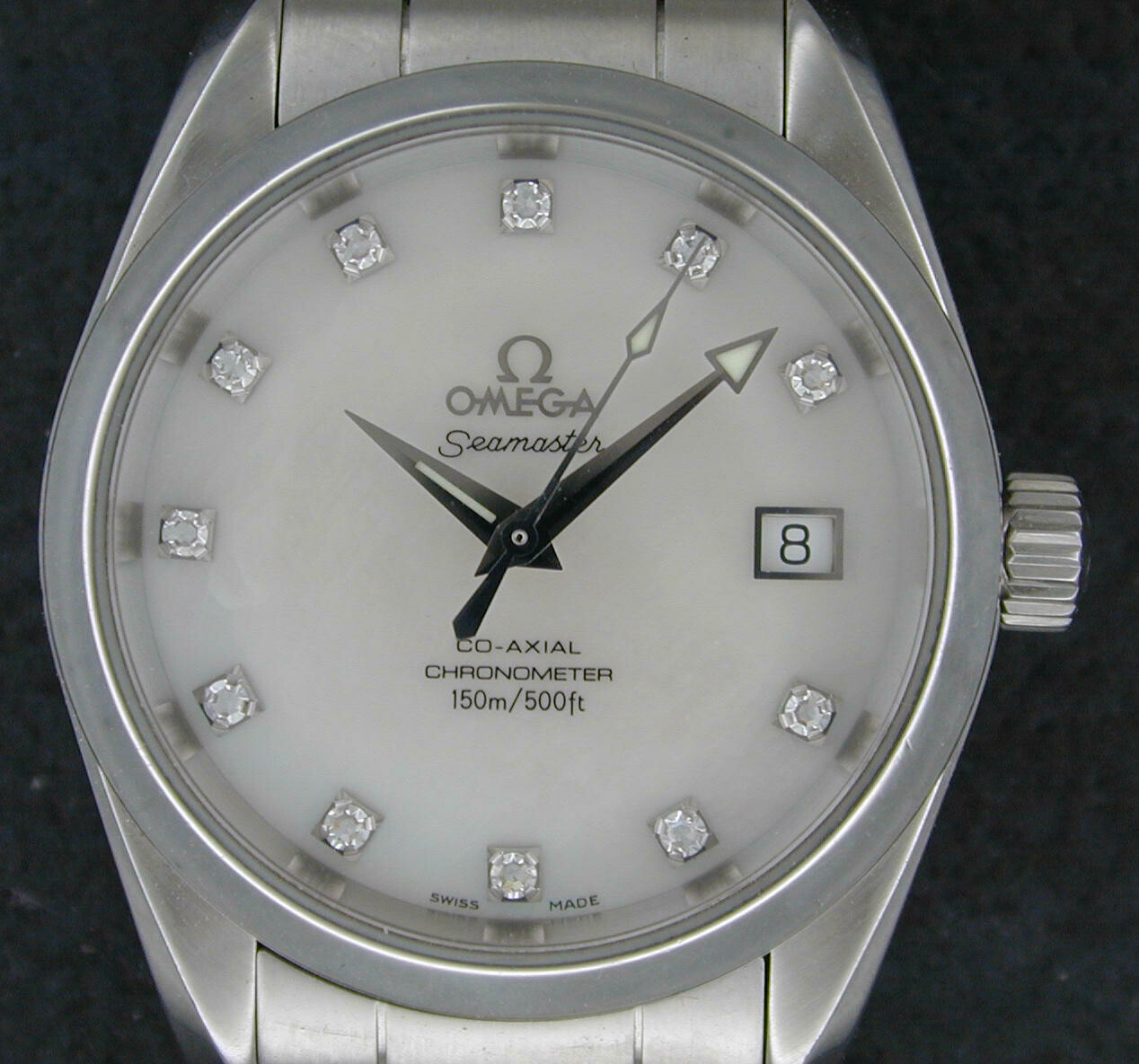 Omega Seamaster Co-axial Chronometer