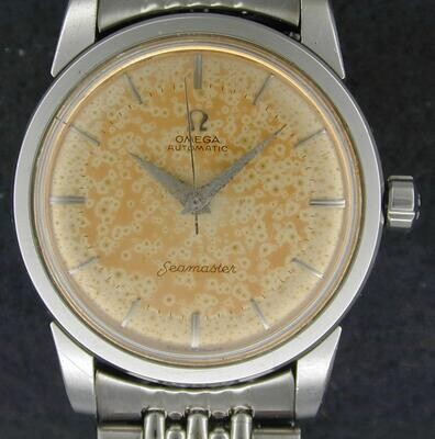 Omega Seamaster w/aged dial and band
