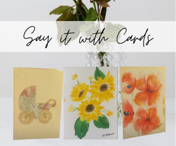 Hand painted Water Colour Cards
