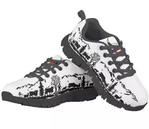 SwissDark Edition Schuhe
