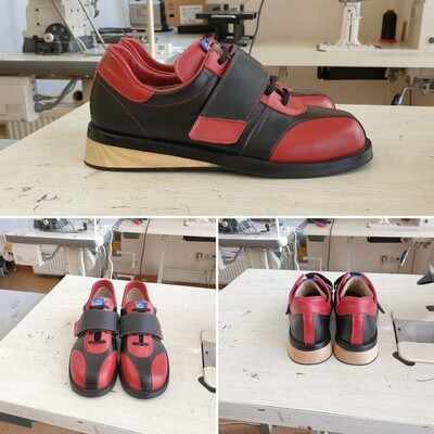 Weightlifting Shoes ROTOR2 Black/Red
