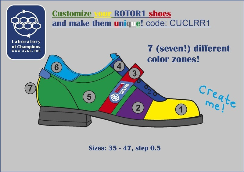 Weightlifting Shoes ROTOR1 Custom Colors