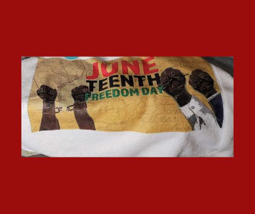 Juneteenth Towel