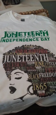Afro Independence Day Shirt