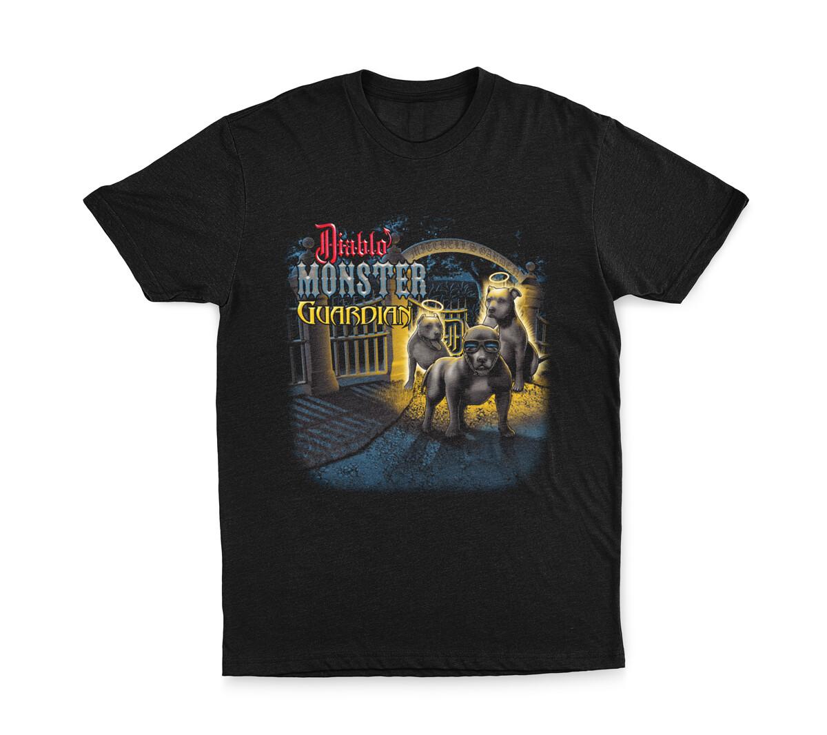 SIZE 5XL: Diablo Monster Guardian T-Shirt