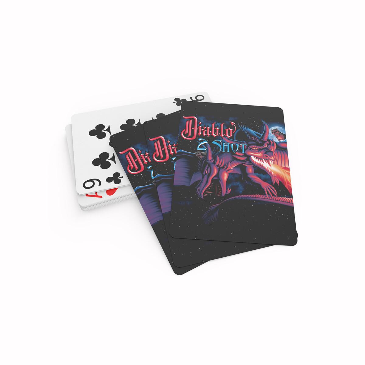 Diablo 2 Shot Playing Cards