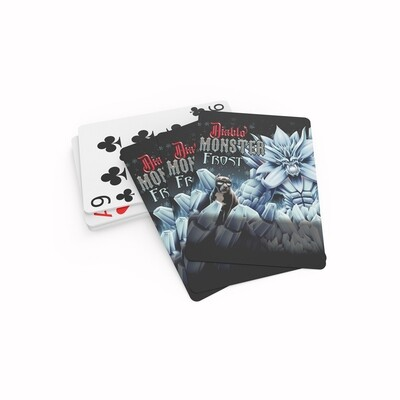 Diablo Frost Playing Cards