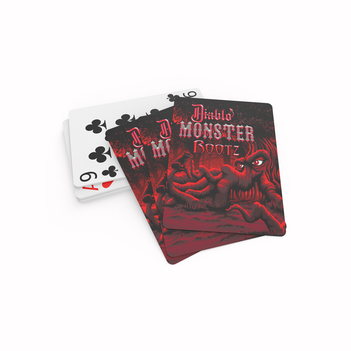 Diablo Rootz Playing Cards