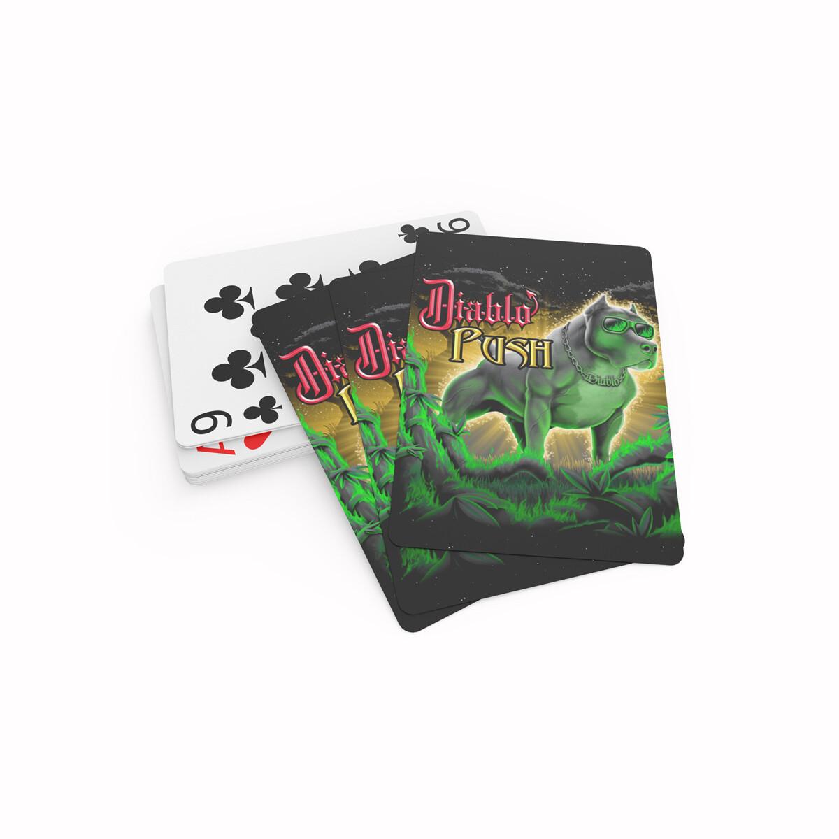 Diablo Push Playing Cards