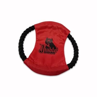 Diablo Dog Throw Toy