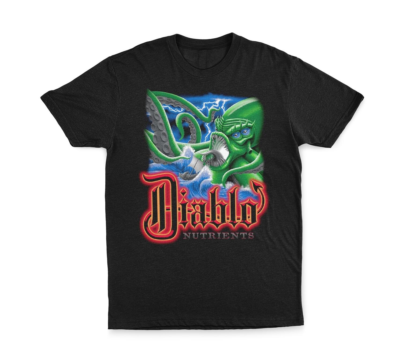 SIZE XL: Diablo Sea Monster T-Shirt