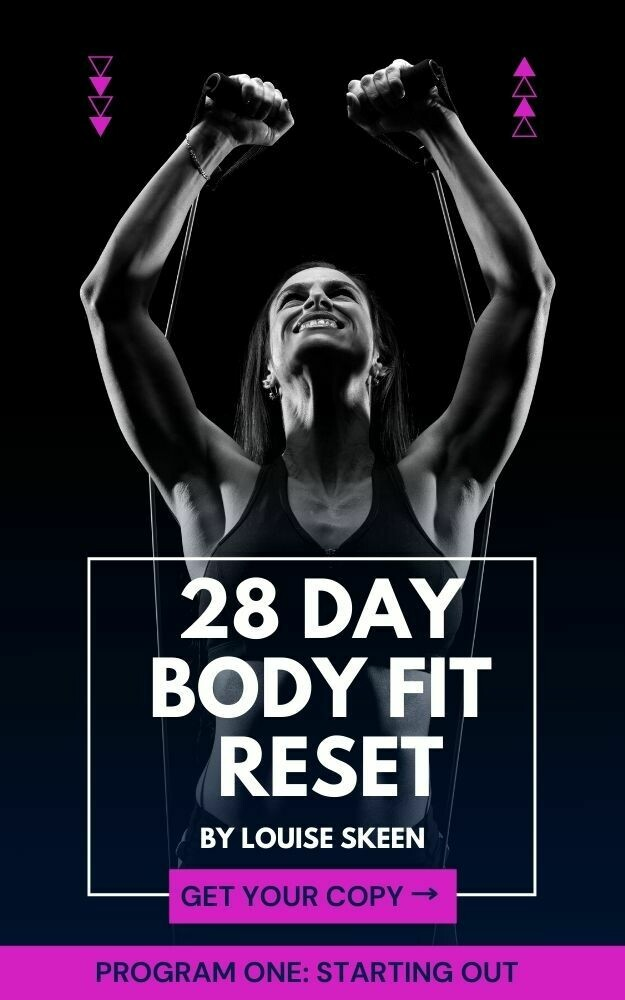 28 Day Body Fit Reset   Program One: Starting Out