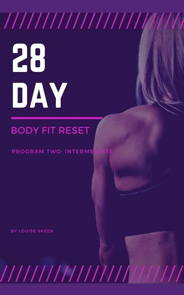 28 Day Body Fit Reset   Program Two: Intermediate