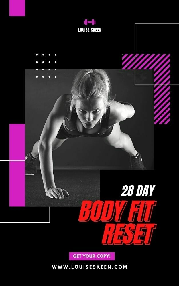 28 Day Body Fit Reset   Program Three: Experienced