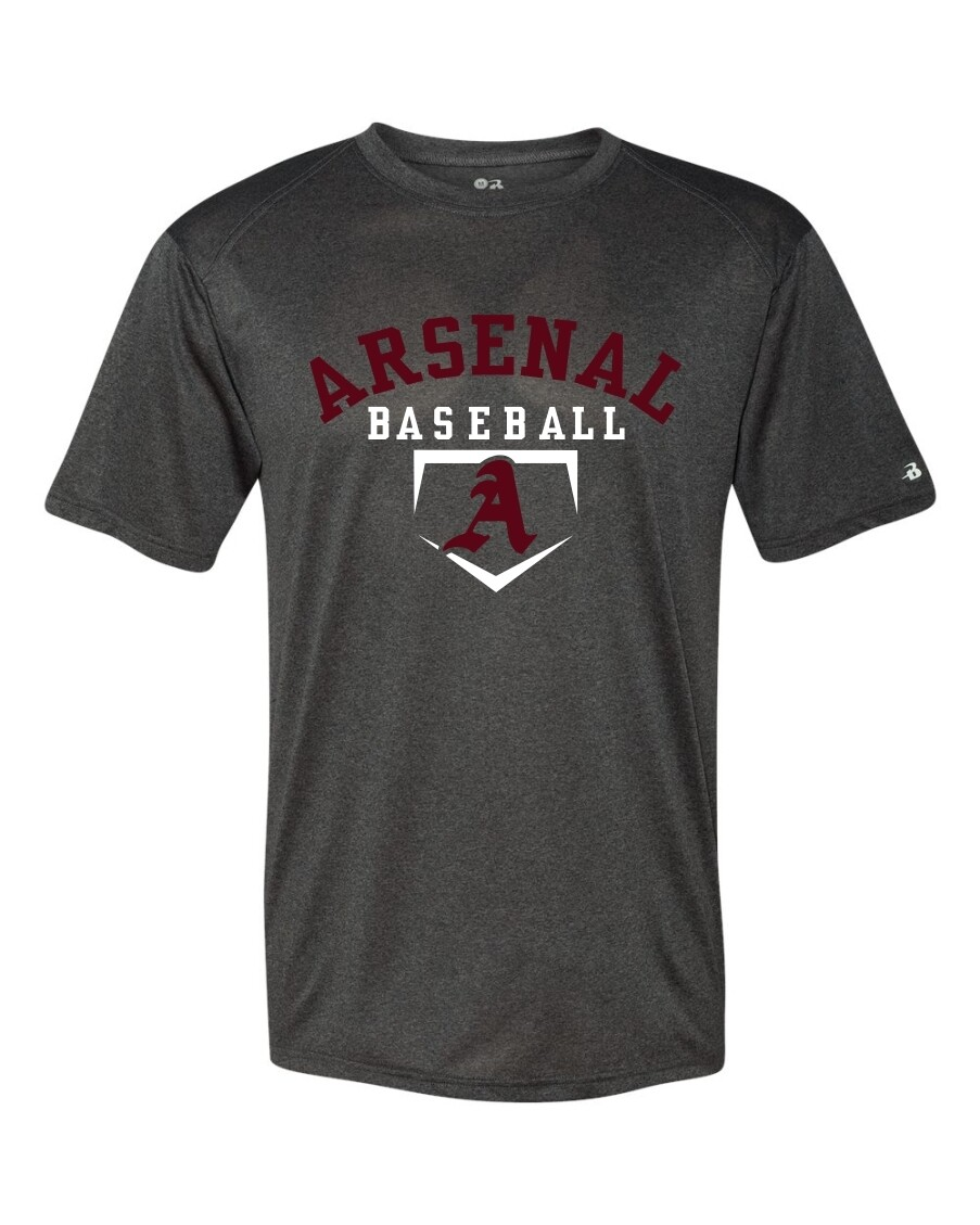ARSN-4320-PRO HEATHER T-SHIRT CARBON HEATHER