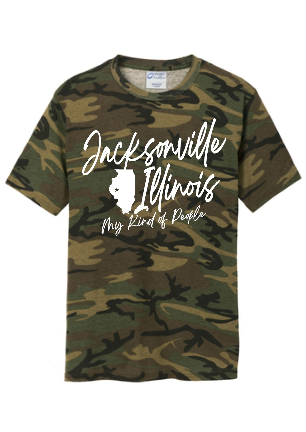 PC54 ADULT CAMO T-SHIRT / MY PEOPLE