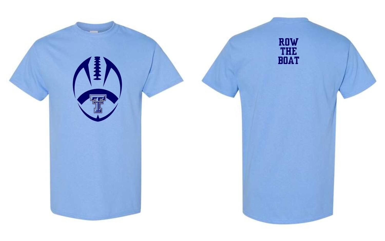 TROJANS-#5000 Gildan T-Shirt (Carolina Blue)