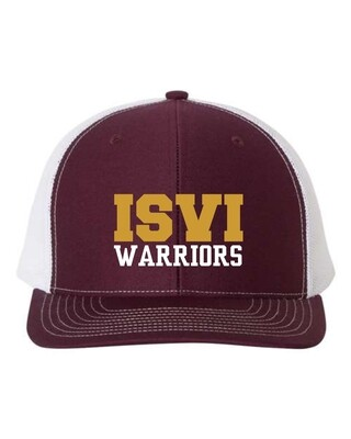WARRIORS-EMBROIDERED TRUCKERS HAT-112